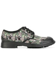 Societe Anonyme Logo Camouflage Derbies Black