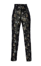 Ms Min Pagoda Pencil Trousers Print