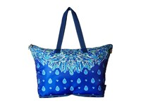 Lilly Pulitzer Getaway Packable Tote Bright Navy Showdown Engineered Tote Handbags Blue