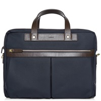 Mismo Office Bag Navy And Dark Brown