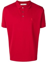 Pringle Of Scotland Embroidered Logo Polo Shirt