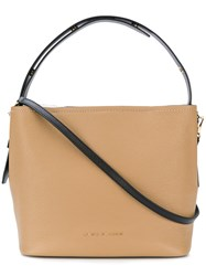 Marc Jacobs Road Hobo Bag Leather Nude Neutrals