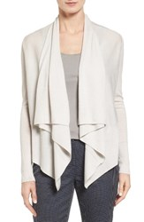 Nordstrom Women's Collection Cashmere Drape Front Cardigan