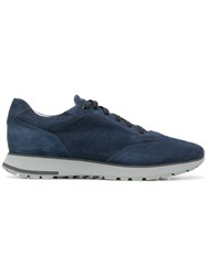 Santoni Low Top Sneakers Blue