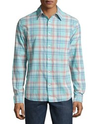 Faherty Ventura Long Sleeve Plaid Shirt Multi
