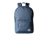Herschel Classic Mid Volume Limoges Crosshatch White Polka Dot Backpack Bags Blue