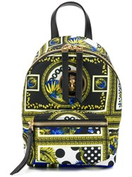 Versus Printed Mini Backpack Black