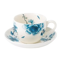 Wedgwood Blue Bird Teacup And Saucer
