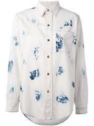 Current Elliott Washed Shirt Women Cotton 2 White