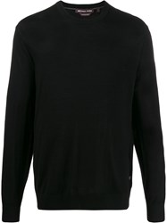Michael Kors Collection Fine Knit Crew Neck Sweater 60