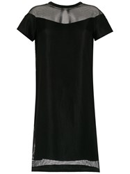 Gloria Coelho Armadura Shift Dress Black