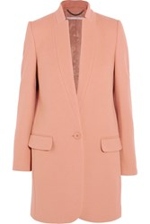 Stella Mccartney Bryce Wool Blend Coat Pastel Pink