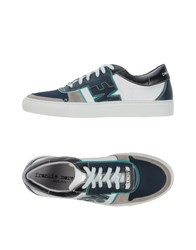Frankie Morello Footwear Low Tops And Trainers Men Dark Blue