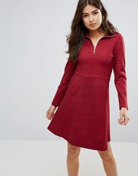 Wood Wood Janet Zip Dress Rugger Red