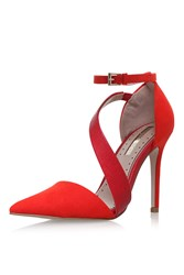 Miss Kg Arielle Red High Heel Sandals By Red