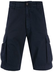 Perfection Side Pocket Bermuda Shorts Blue