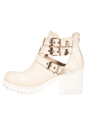Evenandodd Ankle Boots Cream Beige