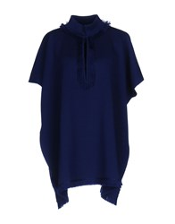 Charlott Capes And Ponchos Blue