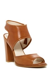 Kenneth Cole Stacy Ankle Strap Pump Brown