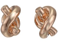 Kate Spade Sailor's Knot Stud Earrings Rose Gold Earring