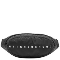 Neighborhood Waist Bag Black