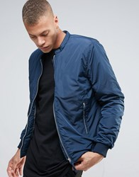Selected Homme Bomber Jacket Dark Sapphire Navy