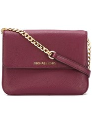Michael Michael Kors 'Bedford' Crossbody Bag Pink Purple
