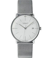 Junghans 027 4002.44 Max Bill Stainless Steel Watch Silver