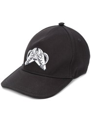 Just Cavalli Embroidered Front Cap Black