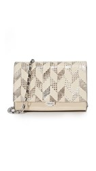 Michael Kors Yasmeen Small Clutch Vanilla Natural