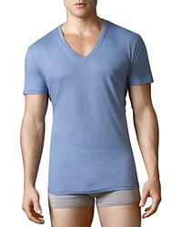 Polo Ralph Lauren V Neck Tees Pack Of 3 Blues