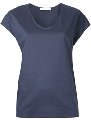 Astraet Scoop Neck T Shirt Grey