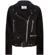 Acne Studios Mock Suede Jacket Black