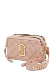 Marc Jacobs The Soft Shot 21 Quilted Leather Bag Nude