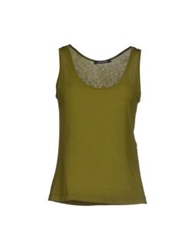Plein Sud Jeanius Tops Military Green