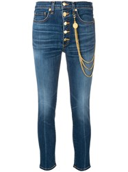 Veronica Beard Classic Skinny Fit Jeans Blue