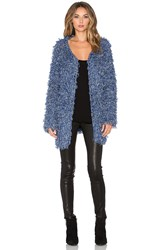 For Love And Lemons Joplin Cardigan Blue