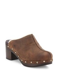 Ugg Kassi Suede Clogs Chocolate