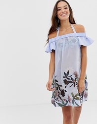 Ted Baker Belriaa Floral Bardot Cover Up Multi