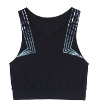 Lucas Hugh Blackstar Printed Crop Top