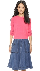 Marc By Marc Jacobs Iris Sweater Pretty Bright Pink Mutli