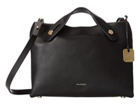Skagen Mini Mikkeline Satchel Black Satchel Handbags