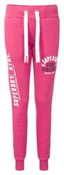Superdry Track And Field Joggers Pink