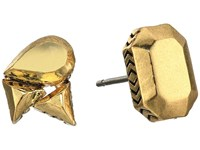 House Of Harlow The Theia Studs Earrings Gold Earring