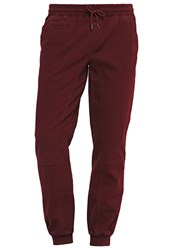 Wrung Winston Relaxed Fit Jeans Burgundy Bordeaux