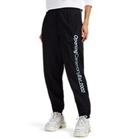 Opening Ceremony Logo Embroidered Jogger Pants Black