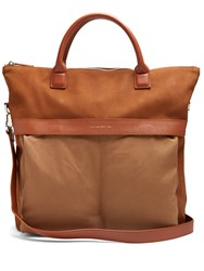 Want Les Essentiels O'hare Ii Suede Tote Brown