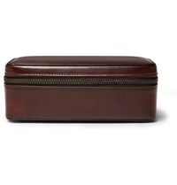 Berluti Leather Watch Case Brown