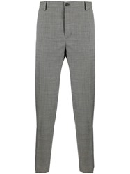 Dolce And Gabbana Plaid Tailored Trousers 60