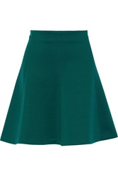 Sandro Jonie Stretch Jersey Mini Skirt Green